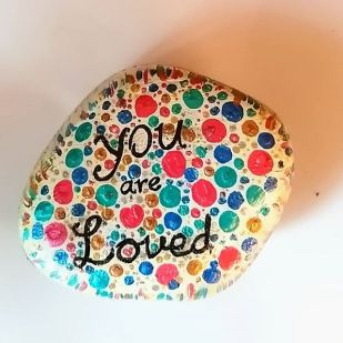 Love_painted_Rock